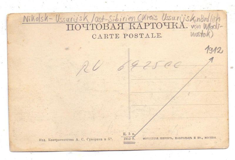 RU 692500 USSURIJSK / NIKOLSK, 1910 1