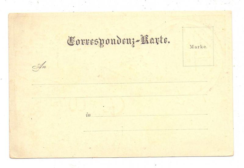 A 1000 WIEN, Lithographie, Karlskirche & Polytechnikum, ca. 1900 1