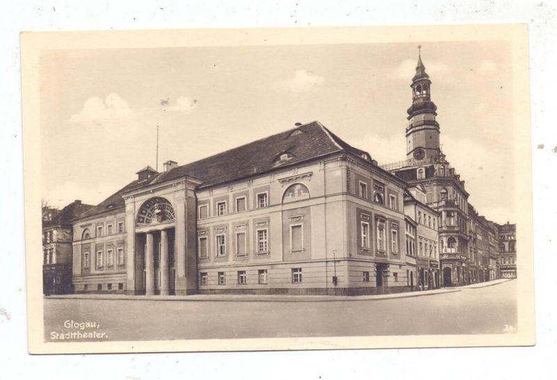 NIEDER - SCHLESIEN - GLOGAU / GLOGOW, Stadttheater 0