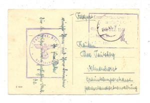 2870 DELMENHORST, Postgeschichte, Militär-Post, Heeres-Standortverwaltung - Zensur, 1941
