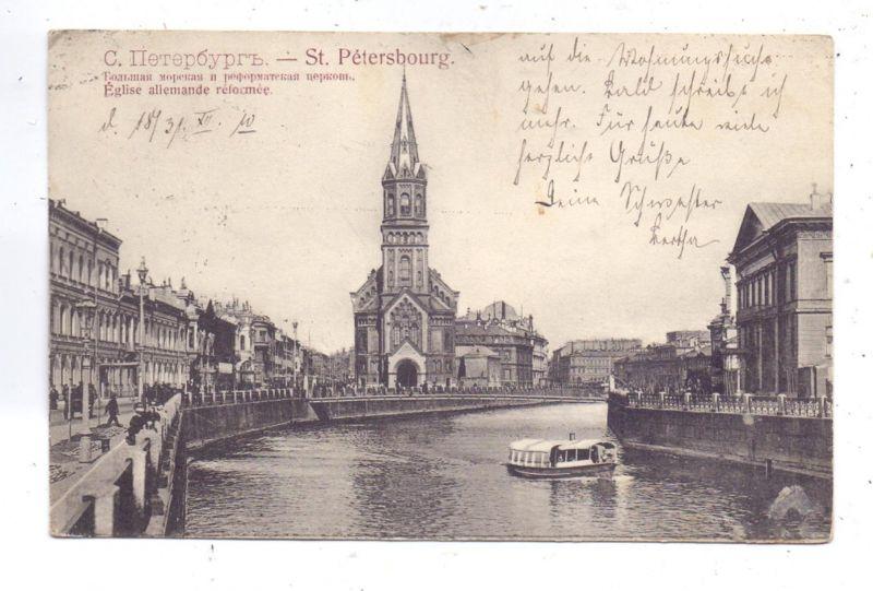 RU 190000 SANKT PETERSBURG, Deutsch reformierte Kirche, 1910