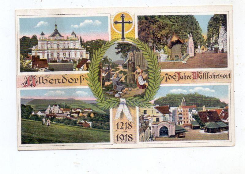NIEDER - SCHLESIEN - ALBENDORF / WAMBIERZYCE, 700 Jahre Wallfahrtsort, 1218 - 1918 0