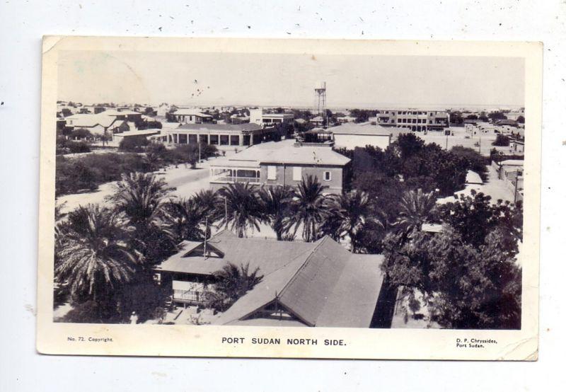 SUDAN - PORT SUDAN, North Side, 1964, kl. Knick / AF