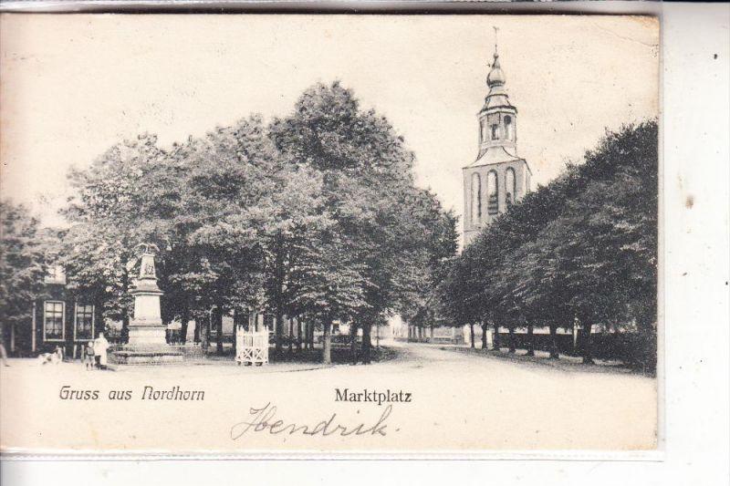 4460 NORDHORN, Marktplatz, 1904 0
