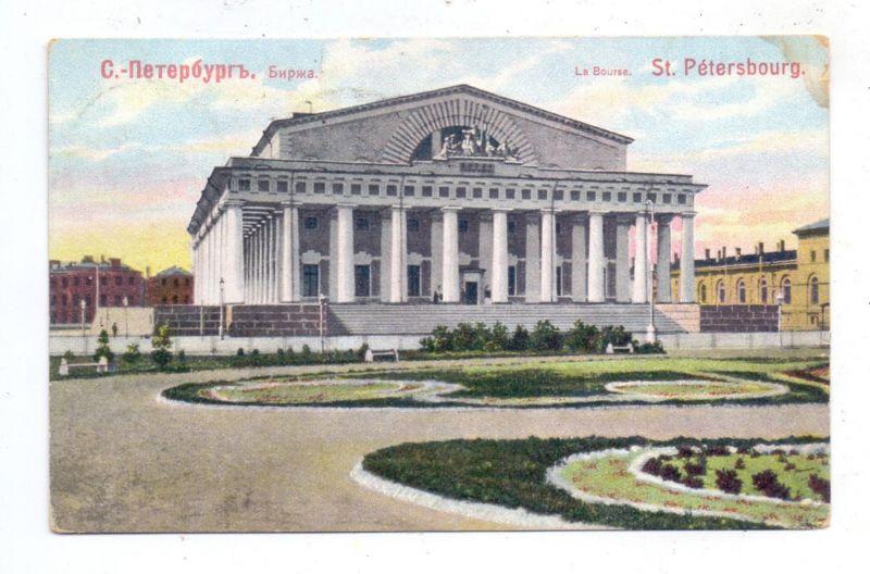 RU 190000 SANKT PETERSBURG, La Bourse, 1909