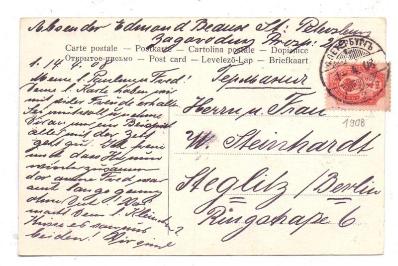 RU 190000 SANKT PETERSBURG, Jelagin-Palais, 1908 1
