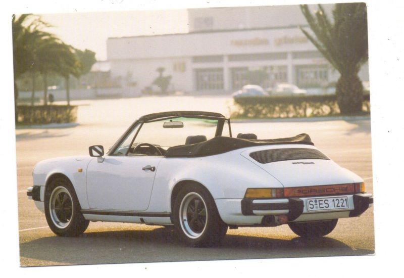 AUTO - PORSCHE 911 Cabrio