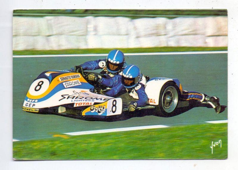MOTORRAD - Rennen, Seitenwagen, A.Michel / G.Lecorre, 1977 Assen