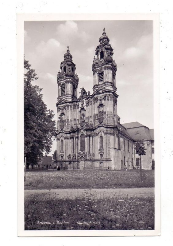NIEDER - SCHLESIEN - GRÜSSAU / KRZESZOW, Marienkirche 0