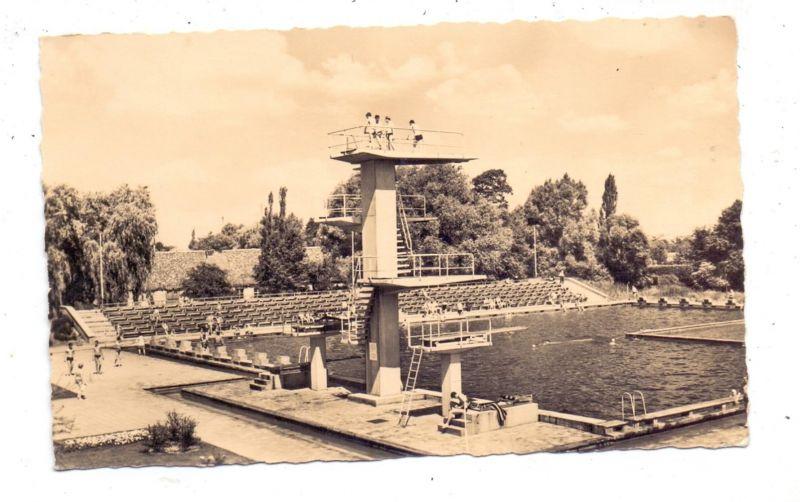 0-7570 FORST / Lausitz, Schwimmbad, 1961 0