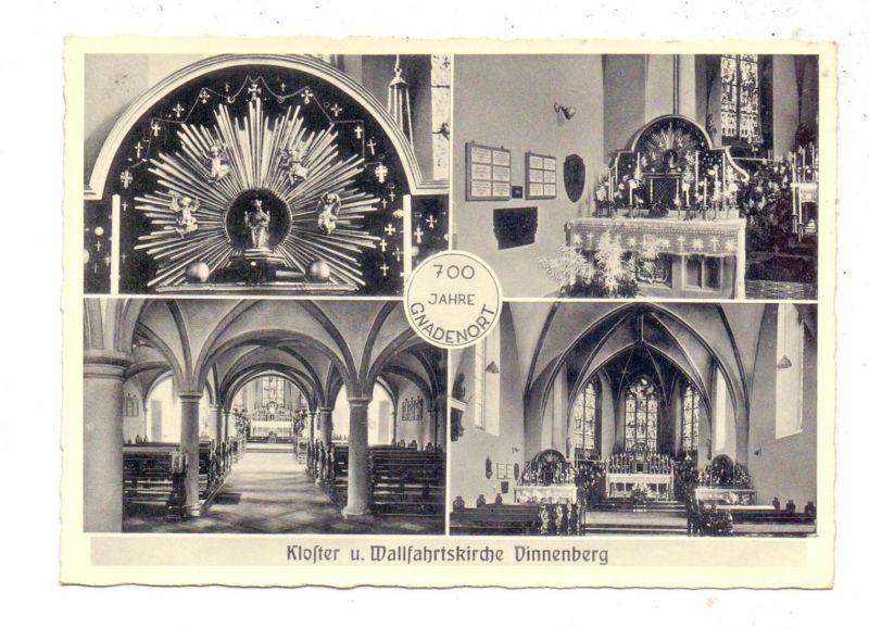 4410 WARENDORF - MILTE, Kloster und Wallfahrtskirche Vinnenberg, 700 Jahr Feier, 1952