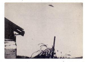 USA - OREGON - McMinnville, UFO, Fliegender Diskus über McMinnville 1950