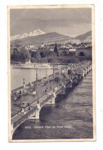 CH 1200 GENF / GENEVE GE, Pont du Mont - Blanc, 1933, Oldtimer