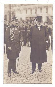 CH 8000 ZÜRICH ZH, Kaiser Wilhelm und Präsident Forrer, Staatsbesuch 1912