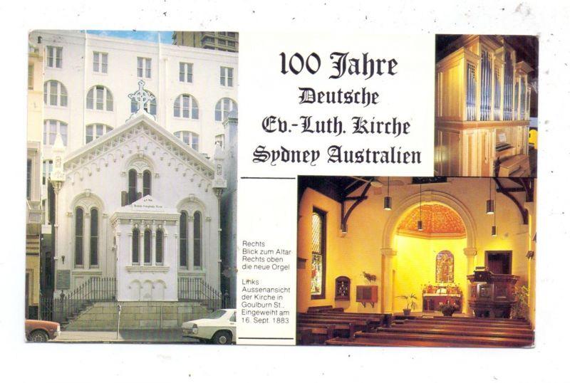 AUSTRALIA - NSW - SYDNEY, 100 Jahre Deutsche Ev.-Luth. Kirche, Aussenansicht, Die neue Orgel