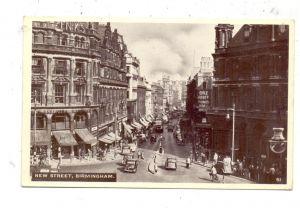 ENGLAND - WEST MIDLANDS - BIRMINGHAM, New Street, 1956