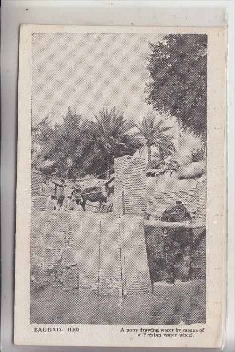 IRAK / IRAQ - BAGDAD, Water Wheel
