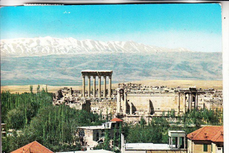 LIBANON, BAALBECK, Panorama, 1974