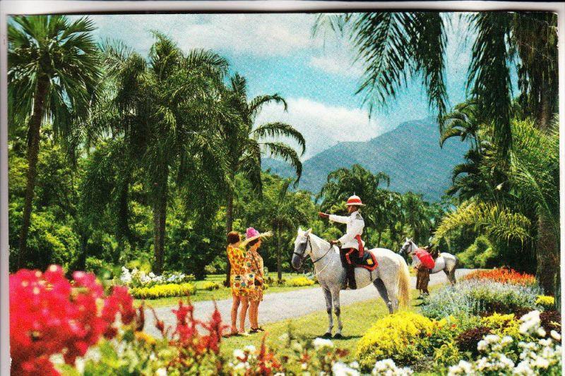 JAMAICA - Kingston, Hope Botanical Garden / Police / Polizei