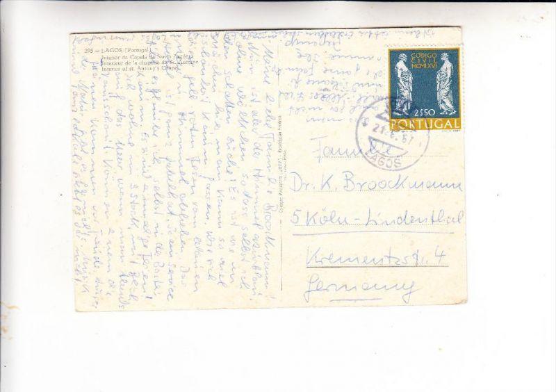 PORTUGAL, 1967, Michel 1034, AK-Einzelfrankatur