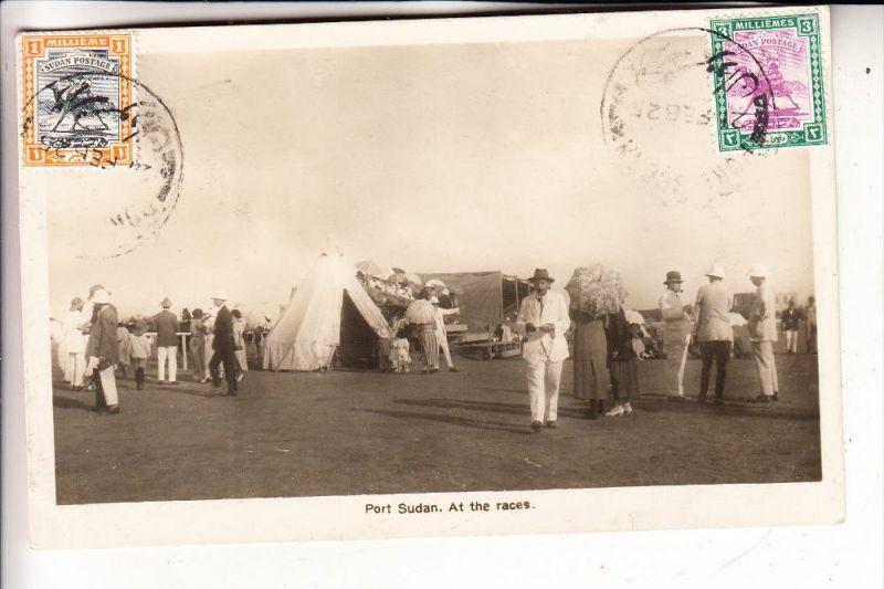 SUDAN - PORT SUDAN, At the Races, 1925