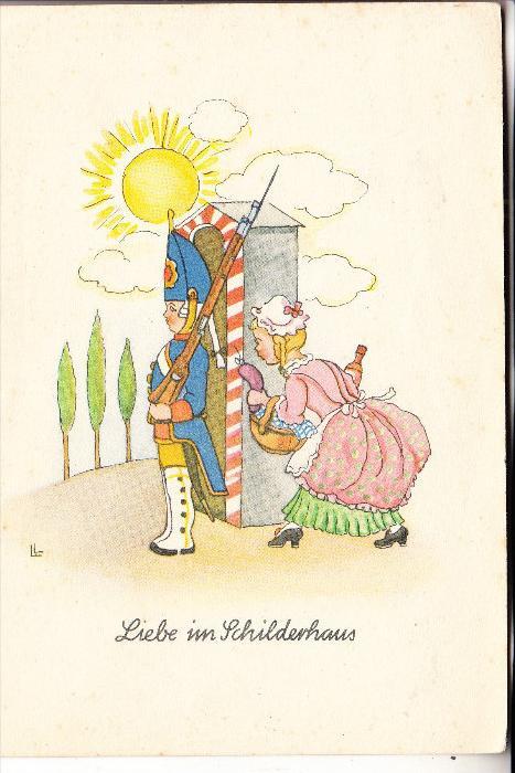 MILITÄR - HUMOR, Liebe im Schilderhaus
