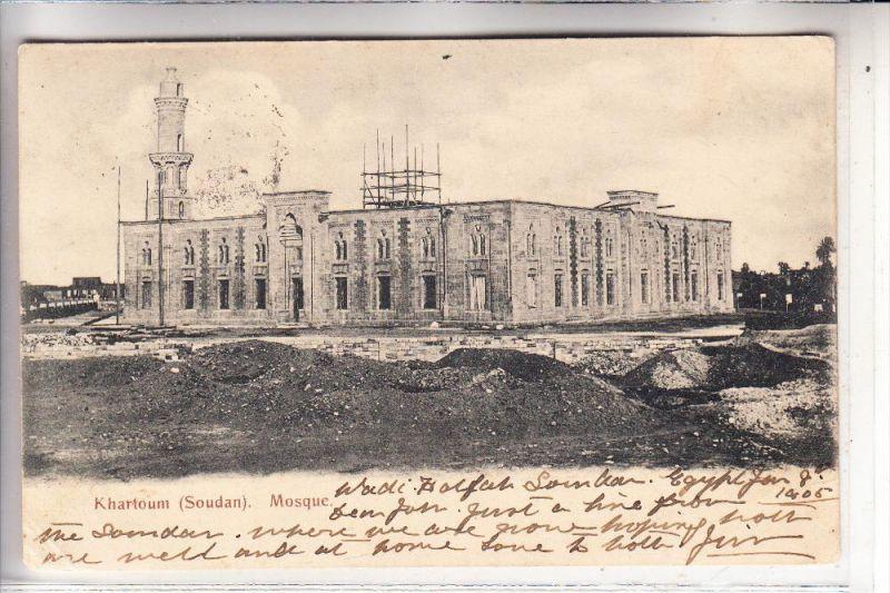 SUDAN - KHARTOUM, Mosque, 1905