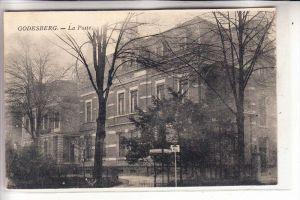 5300 BONN - BAD GODESBERG, Post, Ecke Hindenburg- Poststrasse, 1924, franz. Besatzungszeit
