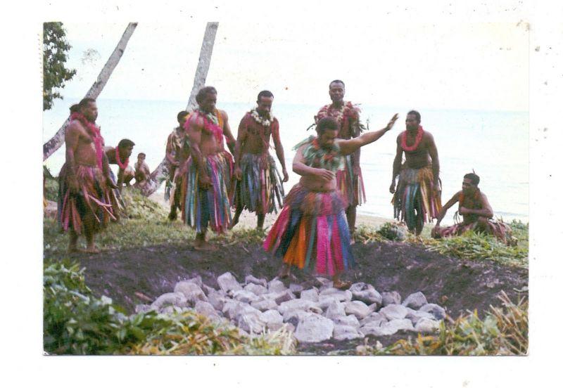 FIJI - Fijian Firewalkers at Beqa island