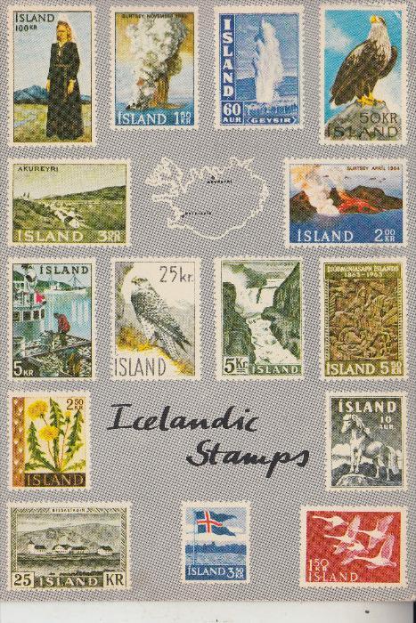 ISLAND, Briefmarken - stamps