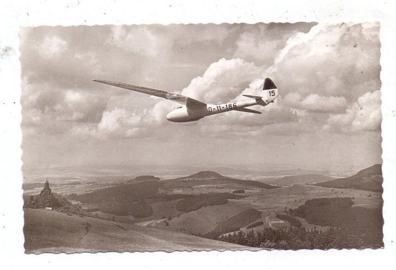 SEGELFLIEGEN - Segelflieger,Wasserkuppe, Peters in CONDOR IIe, 1959