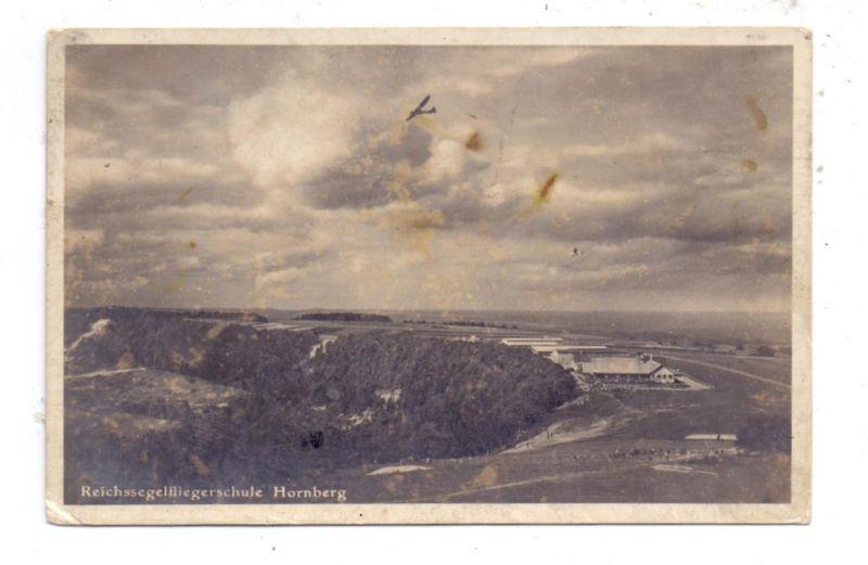SEGELFLIEGEN - Segelflieger, Wasserkuppe, Reichssegelfliegerschule Hornberg, 1936, leicht fleckig