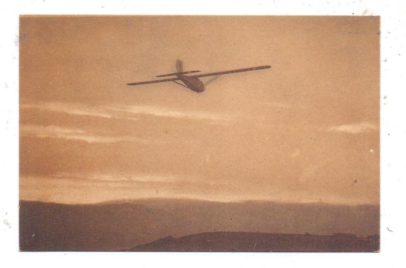 SEGELFLIEGEN - Segelflieger, Akad. Flieger-Gruppe Darmstadt, Segelflugzeug Edith im Fluge