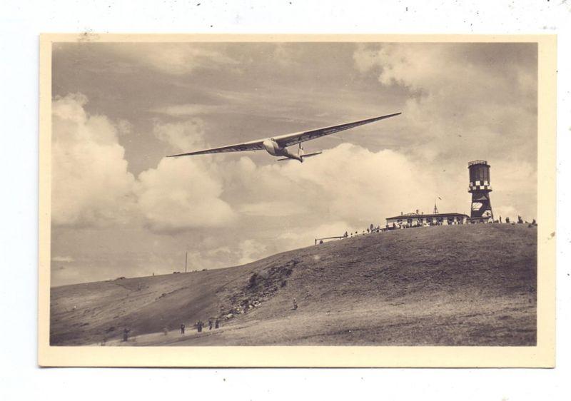 SEGELFLIEGEN - Segelflieger, Wasserkuppe, Start, 30er Jahre
