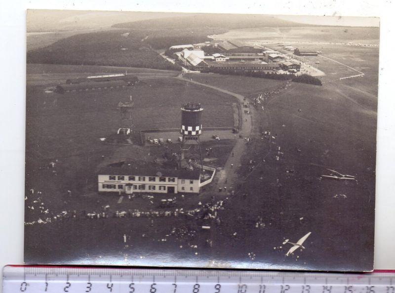 SEGELFLIEGEN - Segelflieger, Wasserkuppe, Luftaufnahme, Photo 16,3 x 11,6 cm