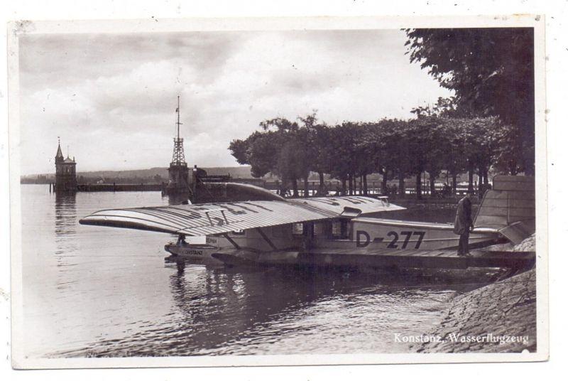 WASSERFLUGZEUG Dornier-Wasserflugzeug D-277 Konstanz