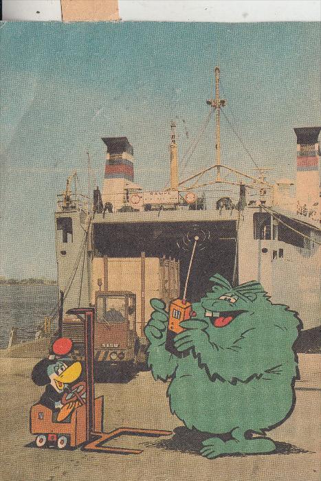 COMIC - OTTO und ALWIN, DDR Comic -AK1983