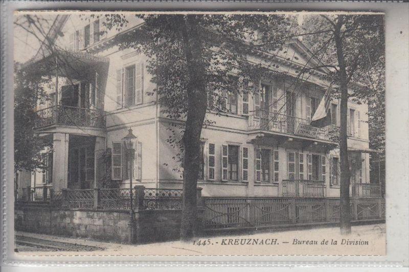 6550 BAD KREUZNACH, Bureau de la Division, 1926