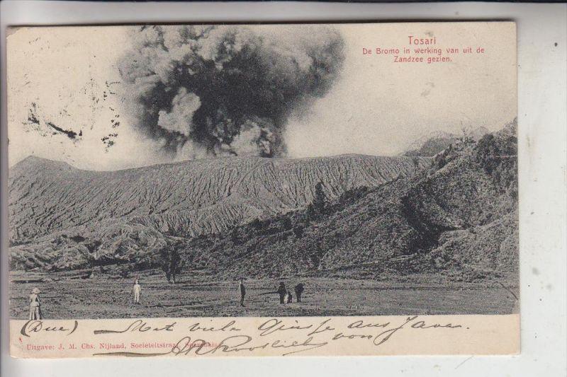INDONESIEN, JAVA, Tosari, Vulcan, 1908