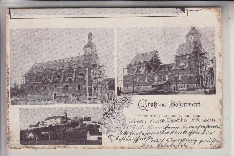 8899 HOHENWART, Kircheneinsturz Dezember 1899