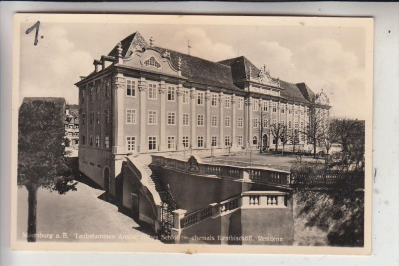 7758 MEERSBURG, Taubstummen-Anstalt Neues Schloß,  Deaf & Dumb Institution / Doofstom Instelling