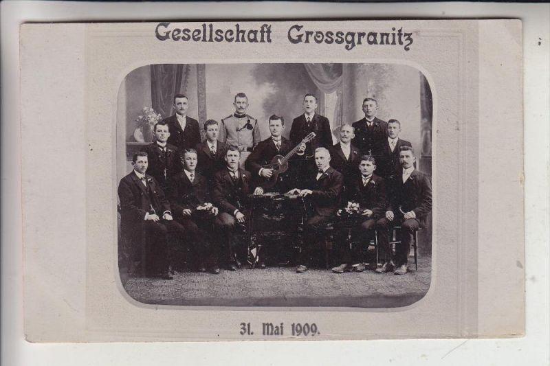MUSIK - Gesellschaft Grossgranitz, Gitarre - Zitter, 1909