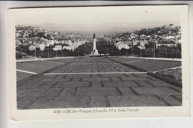 P 1000 LISBOA / LISSABON, Parque Eduardo VII, 1960