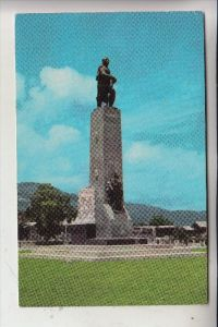 HAITI - PORT-AU-PRINCE, Monument of Alexandre Petion, Frankatur Panama-Canal-Zone