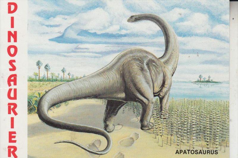 TIERE - PRÄHISTORISCH, Dinosaurier Apatosaurus, Museum Münchehagen