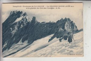 SPORT - BERGSTEIGEN, La Grave, Le Grande Ruine / F