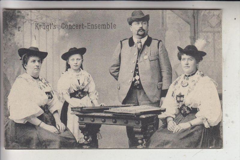 MUSIK - KRÜGEL'S Concert Ensemble, Zither, Trachten, Bayerische Volksmusik