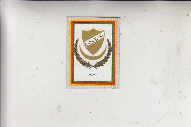 MALAYSIA - KEDAH, Wappen, Sammelbild