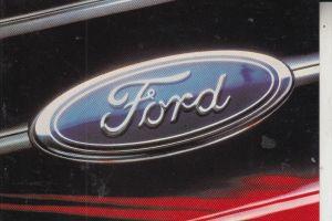 AUTO - FORD - Werbe-Karte
