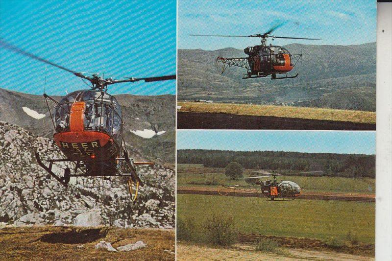 HUBSCHRAUBER / HELIKOPTER, Aerospatiale Alouette II